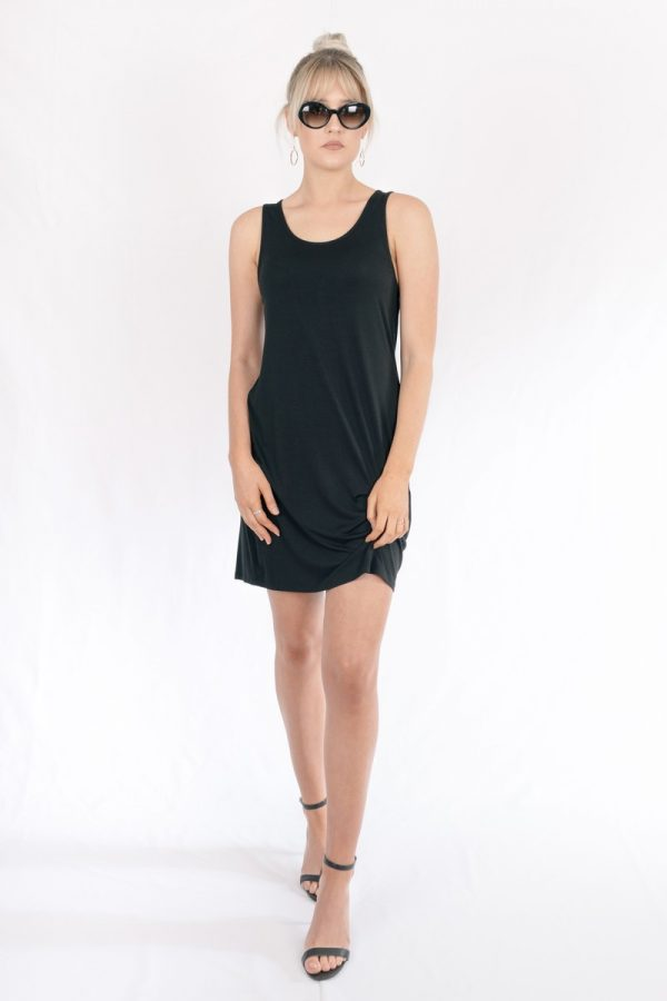 Bamboo_Short_Dress_Black_Venus003