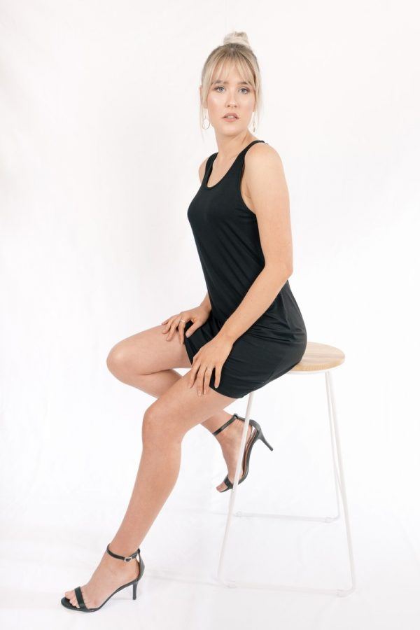 Bamboo_Short_Dress_Black_Venus004