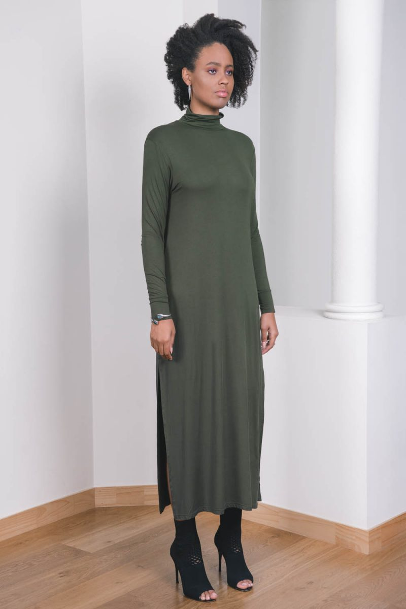 The_Great_Beyond_Bamboo_Dress_Callisto_Olive01