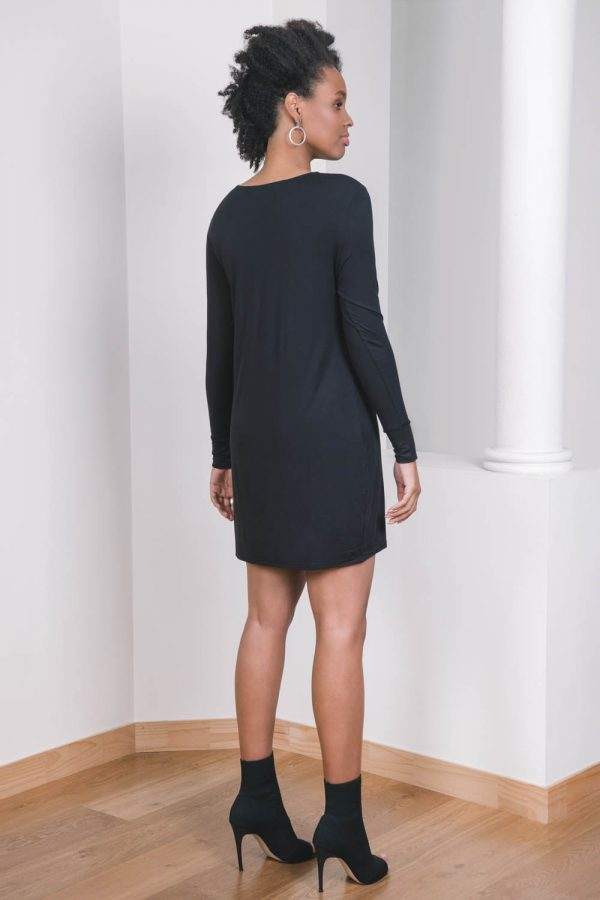 The_Great_Beyond_Bamboo_Dress_Europa_Black02