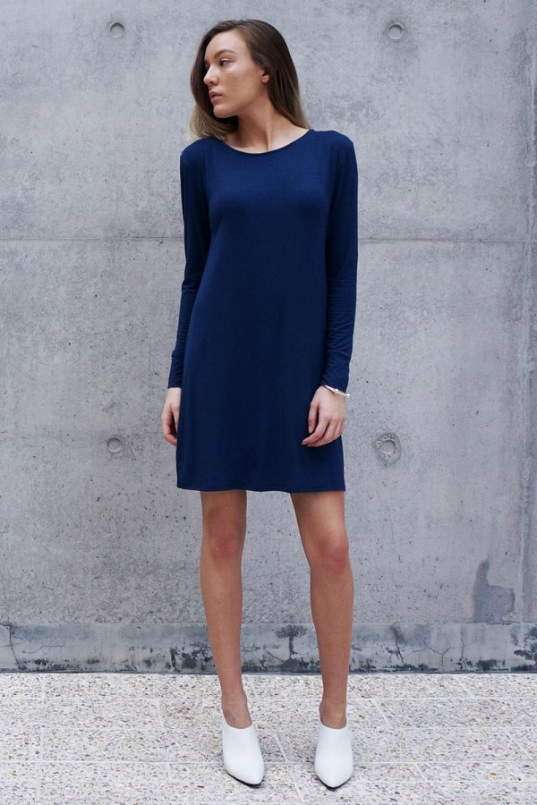 The_Great_Beyond_Bamboo_Dress_Europa_Blue01
