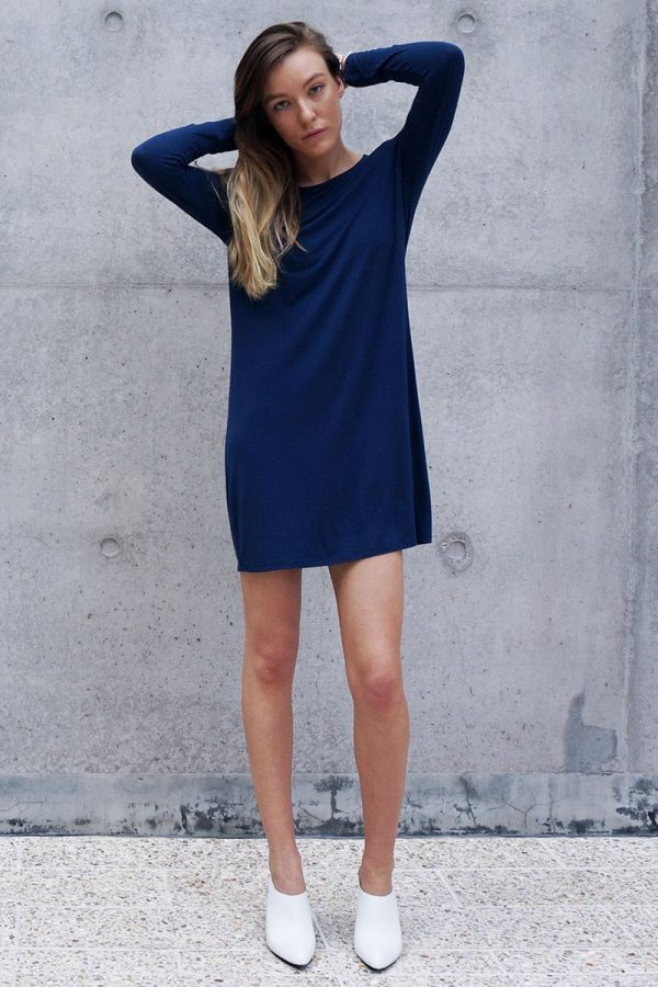 The_Great_Beyond_Bamboo_Dress_Europa_Blue02