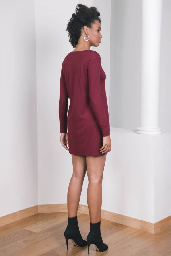 The_Great_Beyond_Bamboo_Dress_Europa_Cherry02