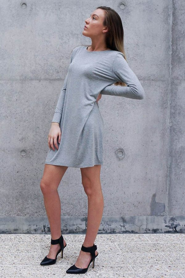 The_Great_Beyond_Bamboo_Dress_Europa_Grey02