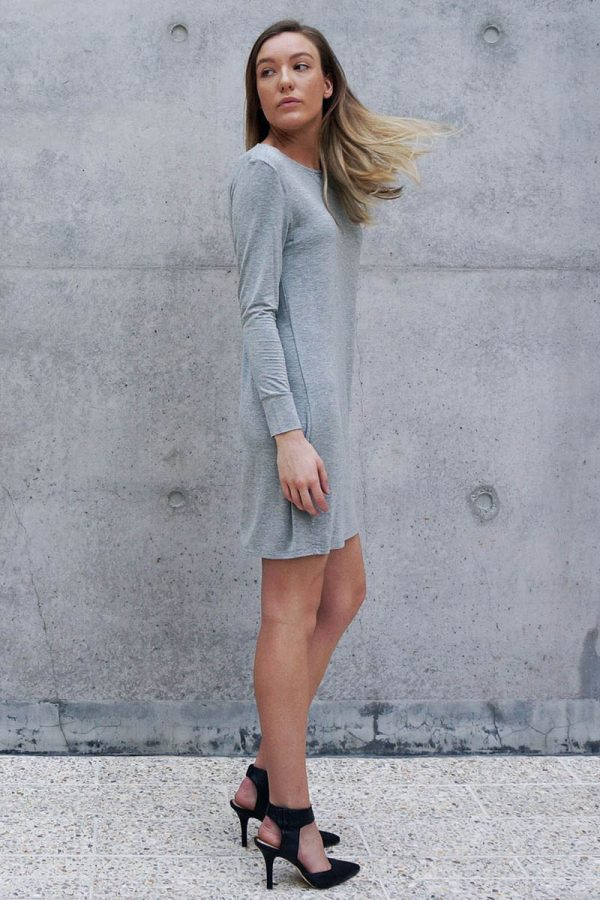 The_Great_Beyond_Bamboo_Dress_Europa_Grey03