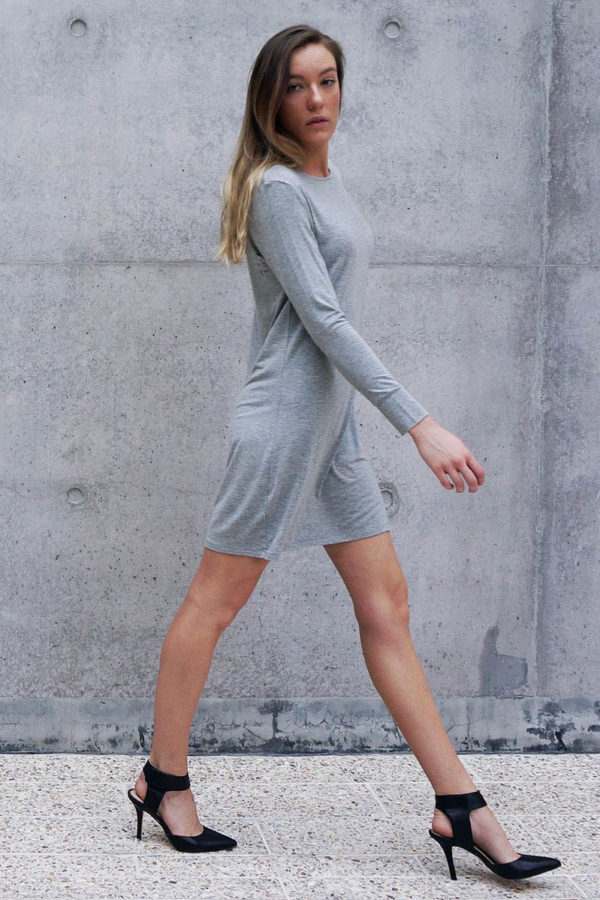 The_Great_Beyond_Bamboo_Dress_Europa_Grey04