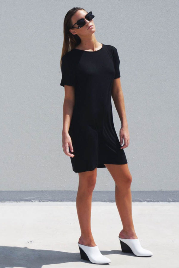 The_Great_Beyond_Bamboo_Dress_Luna_Black01