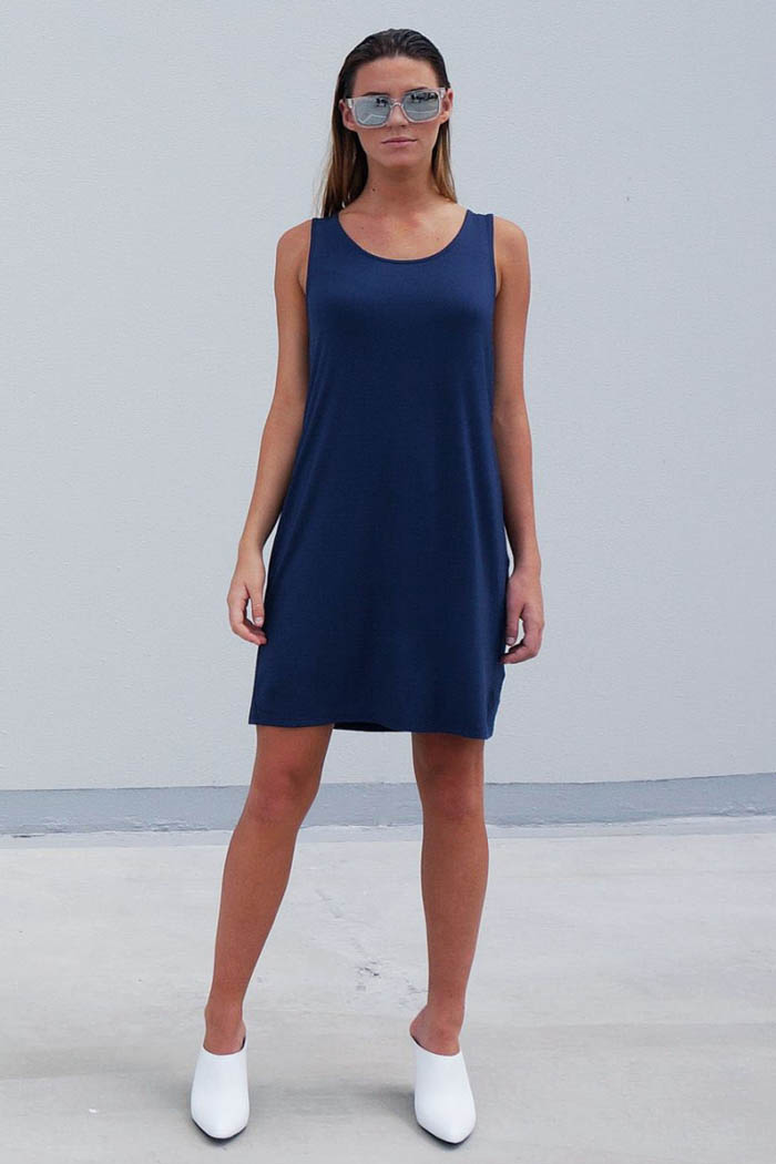 The_Great_Beyond_Bamboo_Dress_Venus_Blue01