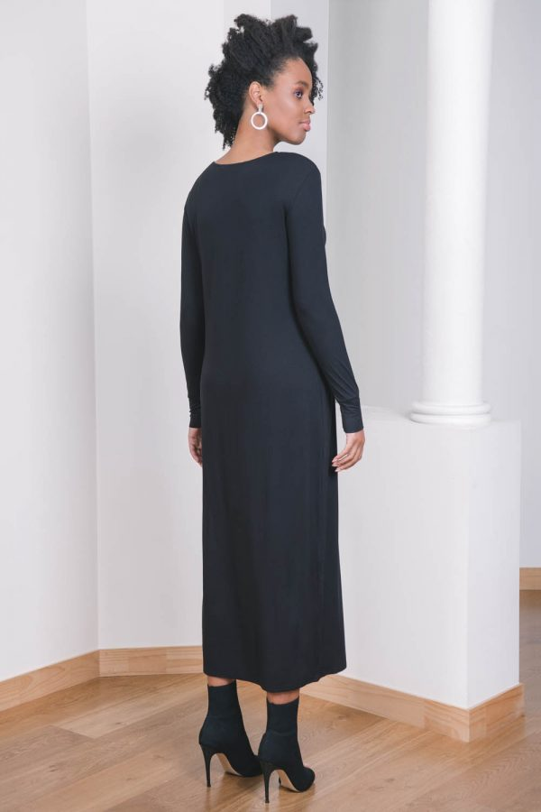 The_Great_Beyond_Bamboo_Maxi_Dress_Europa_Black02
