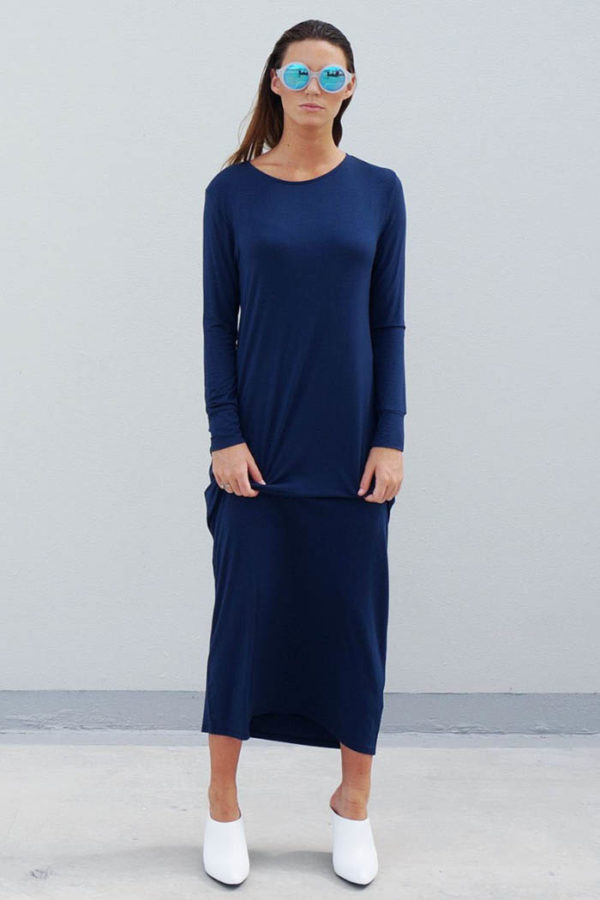The_Great_Beyond_Bamboo_Maxi_Dress_Europa_Blue01