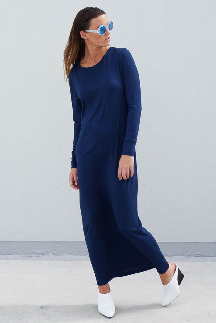 The_Great_Beyond_Bamboo_Maxi_Dress_Europa_Blue03