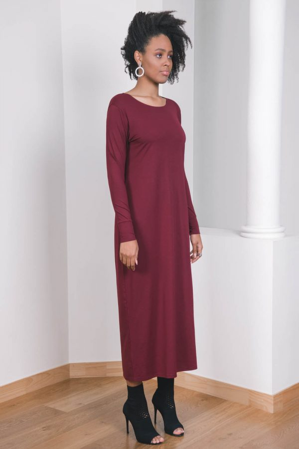 The_Great_Beyond_Bamboo_Maxi_Dress_Europa_Cherry01