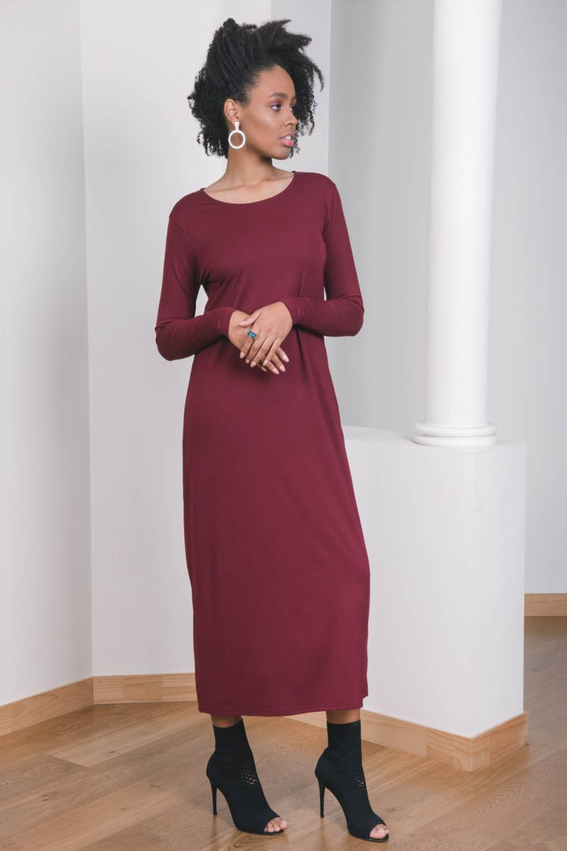 The_Great_Beyond_Bamboo_Maxi_Dress_Europa_Cherry03