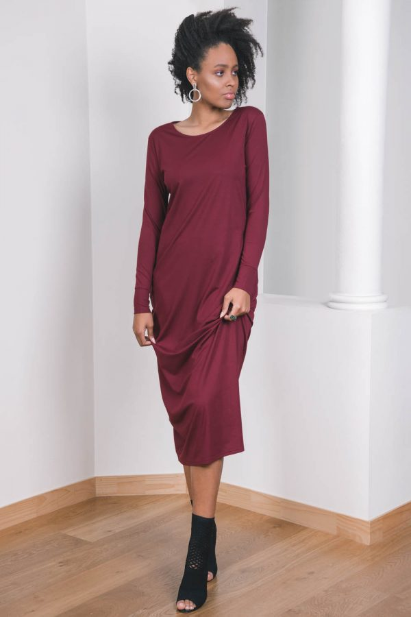 The_Great_Beyond_Bamboo_Maxi_Dress_Europa_Cherry04