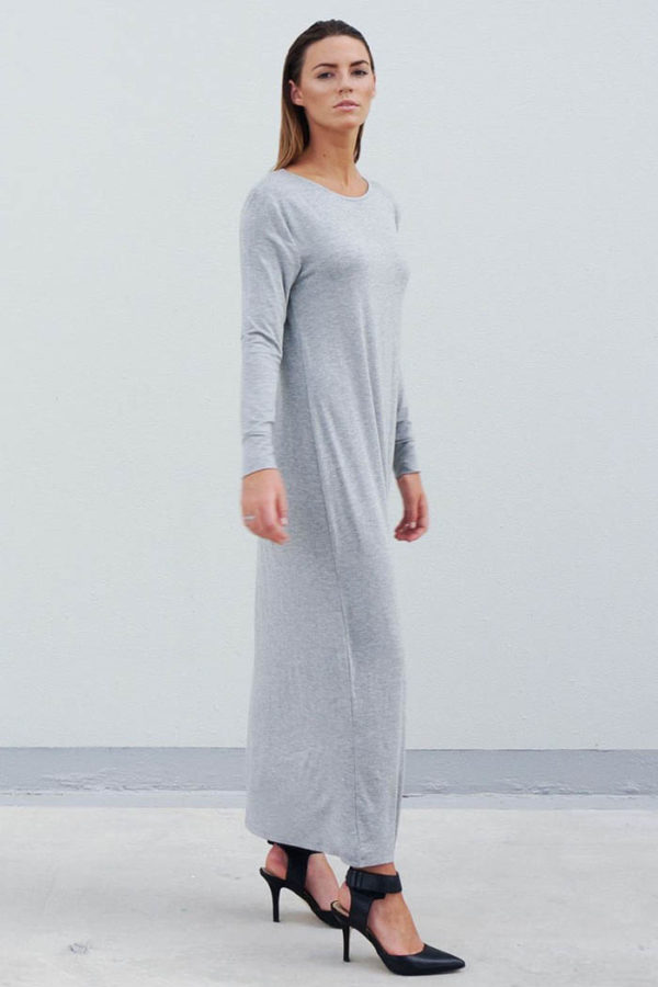 The_Great_Beyond_Bamboo_Maxi_Dress_Europa_Grey02