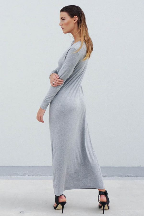 The_Great_Beyond_Bamboo_Maxi_Dress_Europa_Grey03