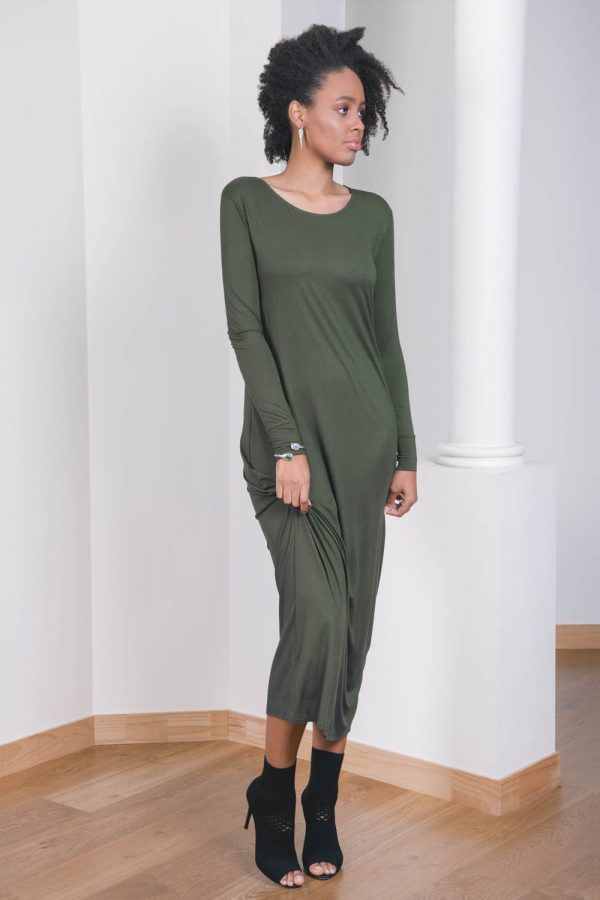 The_Great_Beyond_Bamboo_Maxi_Dress_Europa_Olive03