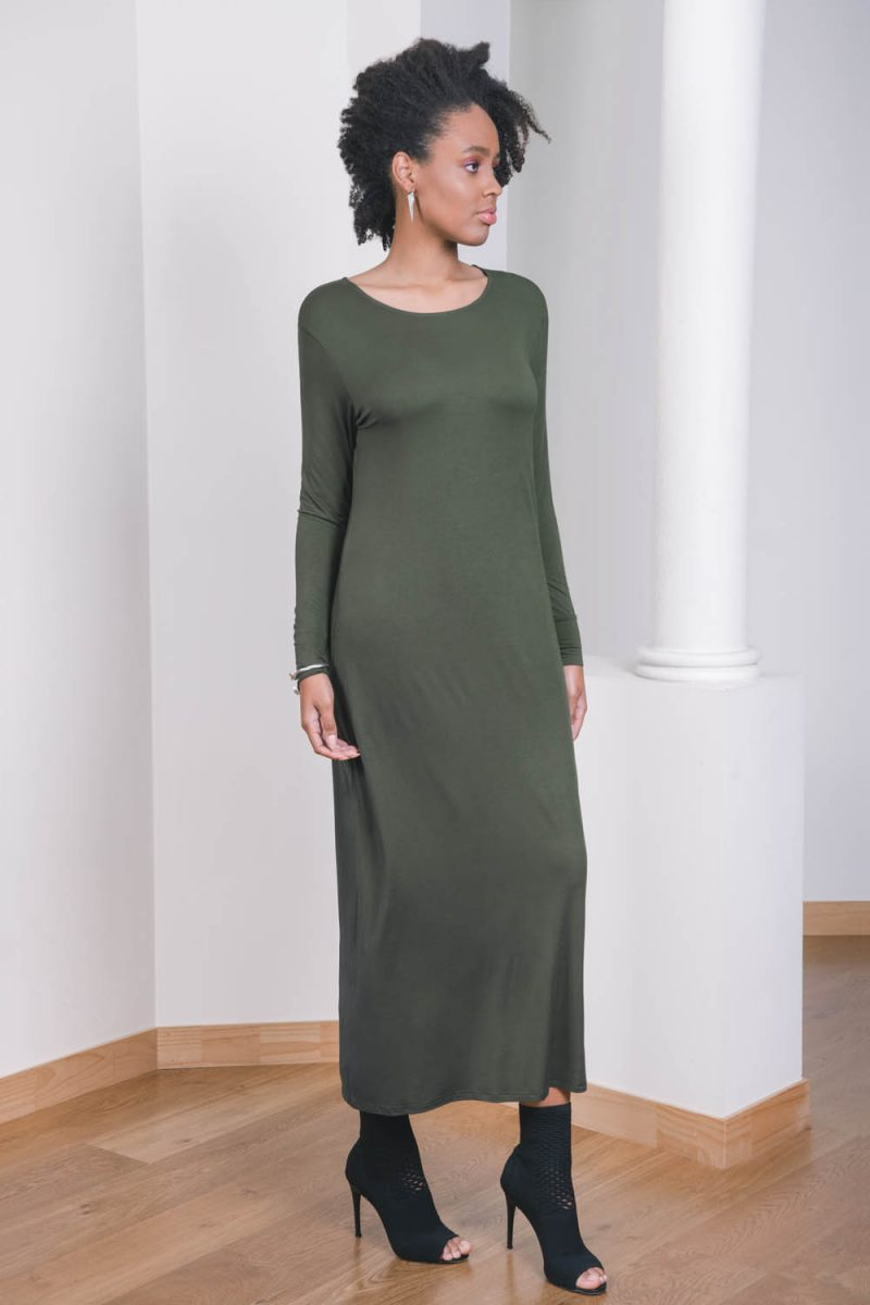 The_Great_Beyond_Bamboo_Maxi_Dress_Europa_Olive04
