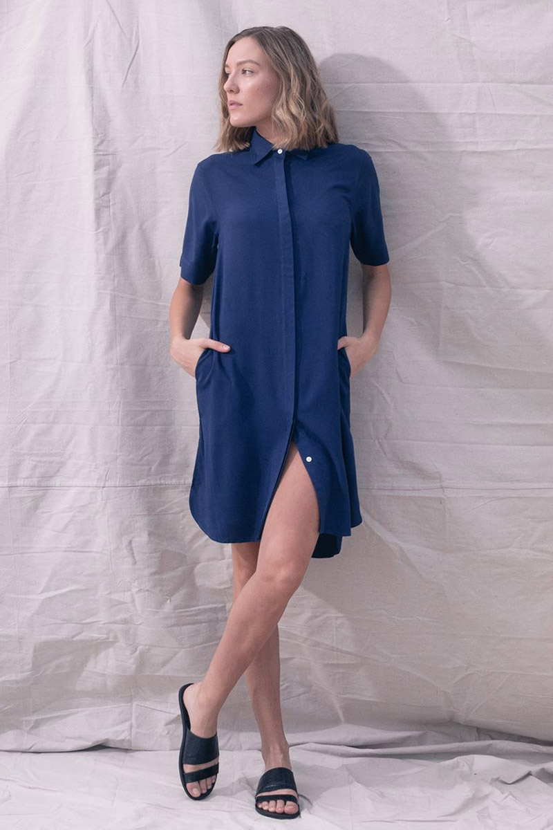The_Great_Beyond_Bamboo_Shirt_Dress_Bianca_Blue04