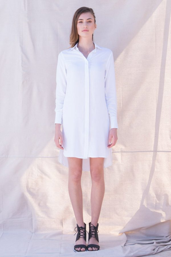 The_Great_Beyond_Bamboo_Shirt_Dress_Helene_White01