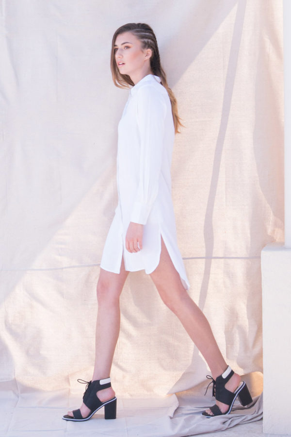 The_Great_Beyond_Bamboo_Shirt_Dress_Helene_White03