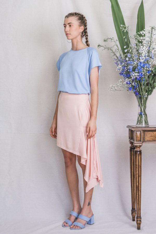 The_Great_Beyond_Bamboo_Skirt_Ara_Pink01