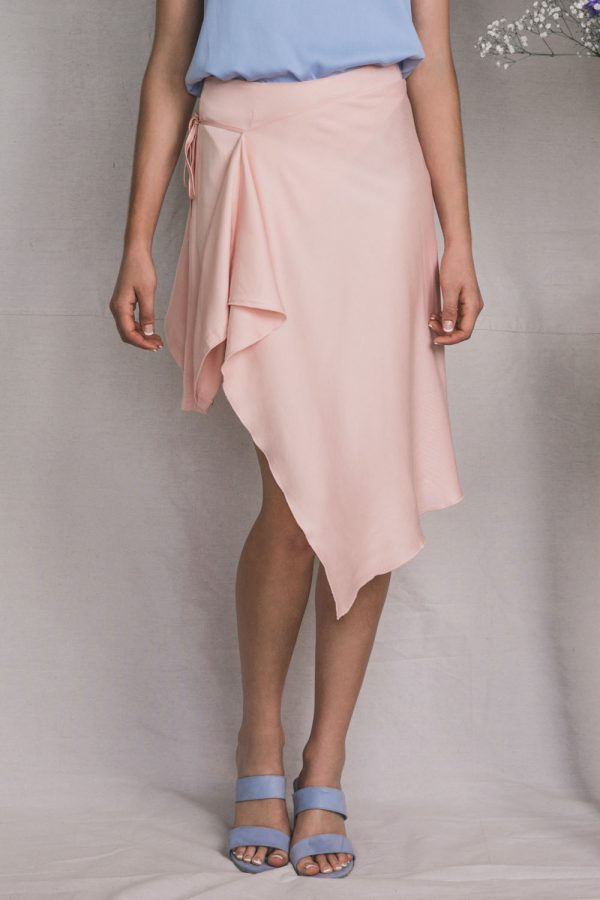 The_Great_Beyond_Bamboo_Skirt_Ara_Pink06
