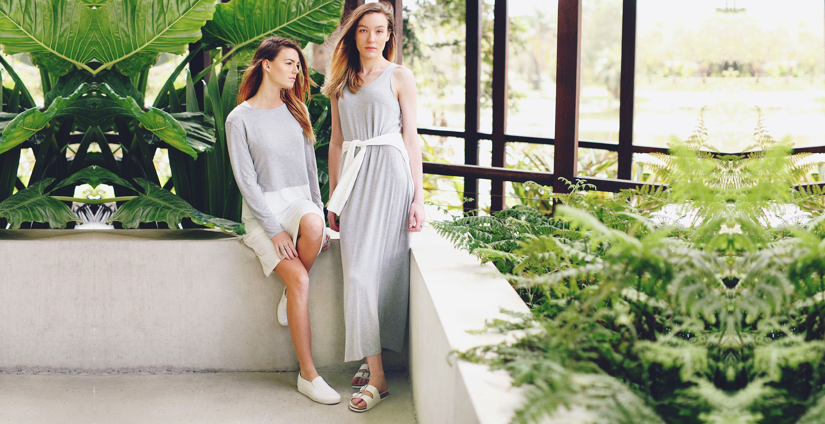 Bamboo Clothing Eco Firendly Womens Fashion Maxi Dress Grey The Great Beyond